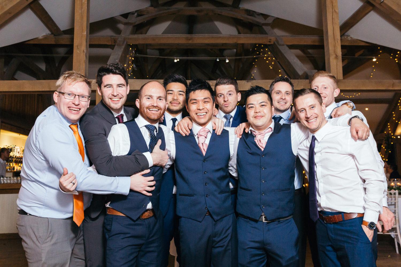 Sandburn Hall and Tykes Restaurant Wedding