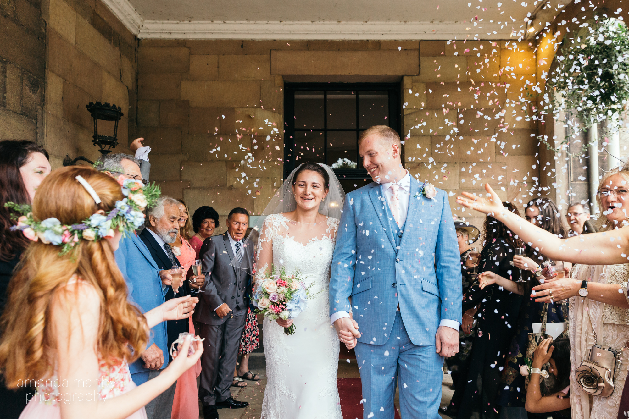 Ripley Castle Wedding photographer